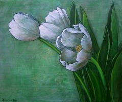 White and Green by Boias