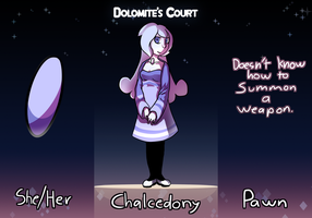 Dolomite's court application - Chalcedony by SongMina
