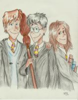 The Trio by ThatsNina