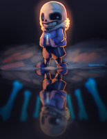 Sans - Undertale by eggspression