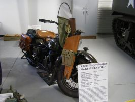 harley Davidson Military Bike by Jetster1