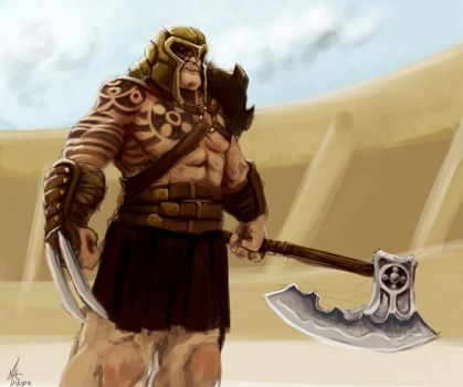 Gladiator by chillier17