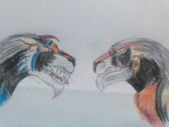 face off by Blacklion1984
