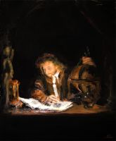 The Astronomer by feuersonne