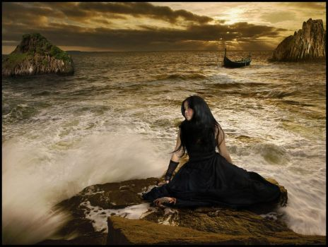 Lost On The Sea by silent-spring