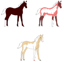 Foals for eileendj by SnoHeartsMay