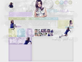 Layout ft. Mila Kunis by Andie-Mikaelson