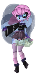 Galaxy Girl Adopt [CLOSED] by Kuejena