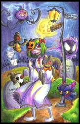 HALLOWEEN GHOSTIES by SirPrinceCharming