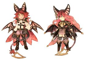 Adoptable 12 - Vampires [CLOSED] by Pearlgraygallery