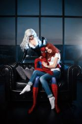 Spider-Man Black Cat Mary Jane Cosplay Marvel by AGflower