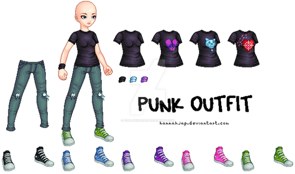 Punk Outfit by Icon-Universe