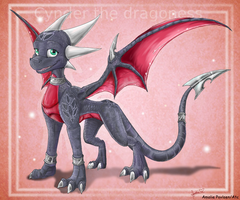 Cynder by Art-by-Ling