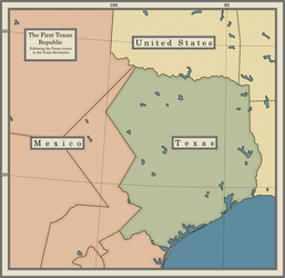 The First Texan Republic 1836-1846 by dsfisher