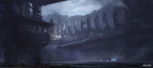 World Building 2 - Environment Design: Class Demo by JamesPaick