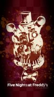 Molten Freddy wallpaper by GareBearArt1