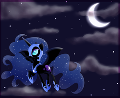 .Nightmare Moon. by CosmicPonye