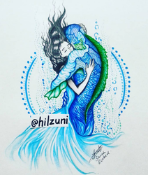 The Shape of Water by Hilzuni