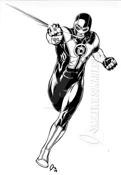 Green Lantern 001 Small by mikewilsonart