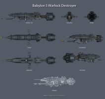 Babylon 5 Warlock Final Ortho by 2753Productions