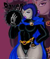 Raven by mystic-skillz