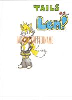 Tails as... Kagamine Len! by lackingabettername