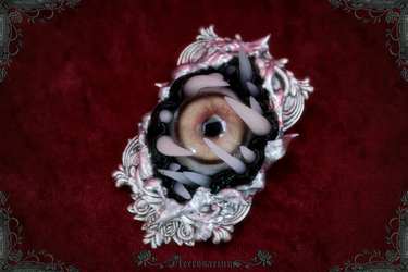 Monster Brooch A1718 by Necrosarium