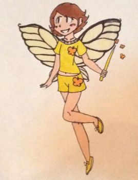 Request- Saffron the Yellow Fairy by F0xyth3p1rat3f0x