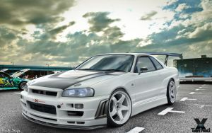 Nissan Skyline R34 GTR by MurilloDesign
