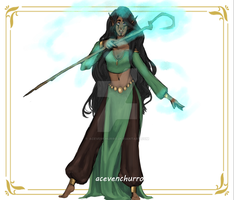 {CLOSED} ADOPT AUCTION: Elven Mage by AceVenchurro