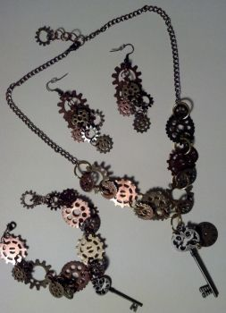 Custom Jewelry Set by bookerboots
