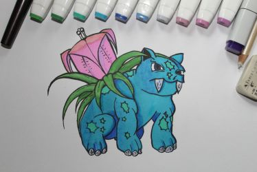 Ivysaur by Held-Frakkle