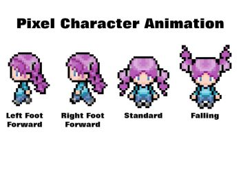 Pixel Character Animation by smallruubzz