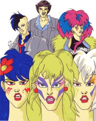 The Misfits and the others by PeteVenkman