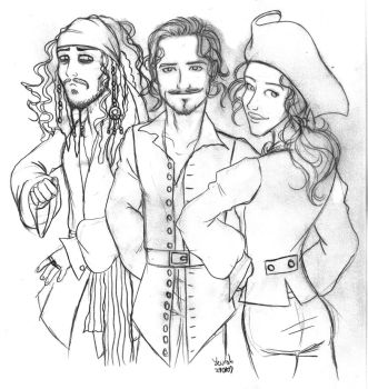 POTC the animated series by Konstance