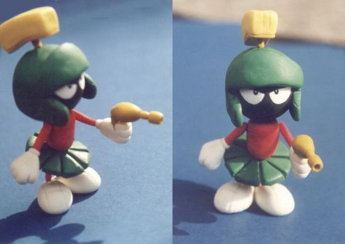 Marvin the martian: first work by unicornstrike