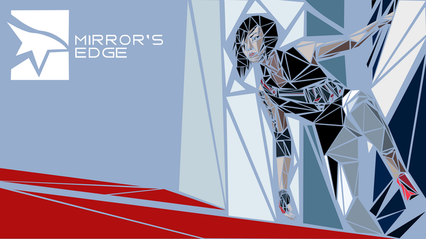 Mirror's Edge 2 Mosaic Wallpaper by klopki