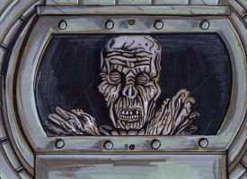Return of the Living Dead - Barrel Zombie by colemunrochitty