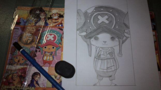 WANTED: Chopper - One Piece by vanillafloat23