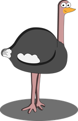 Day 4 - Ostrich by Arkholt