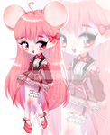 |auction-closed| chibi mouse by Yuko-n