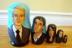 How I Met Your Mother Nesting Dolls by bachel60