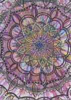 Bright Mandala by allysorge