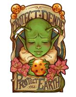 Protect Dende, Protect the Earth by paigehwarren