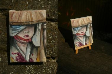 The Minature Geisha by DeaBellona