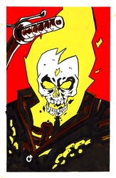 Ghost Rider Gouche by Rathan-Marxx