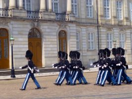 Changing of the Guard - Denmark 2 by wanderingmage