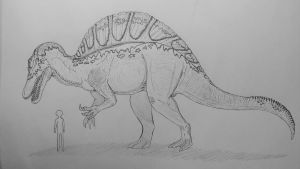 Monster Island Expanded: Spinosaurus sornaensis by Trendorman