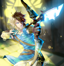 Link Breath of the Wild by Taulan-art