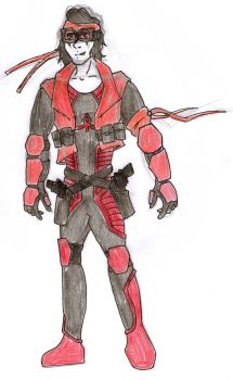 DC Comic Project:Alternative outfit2 Tactical Gear by Foxy-Knight